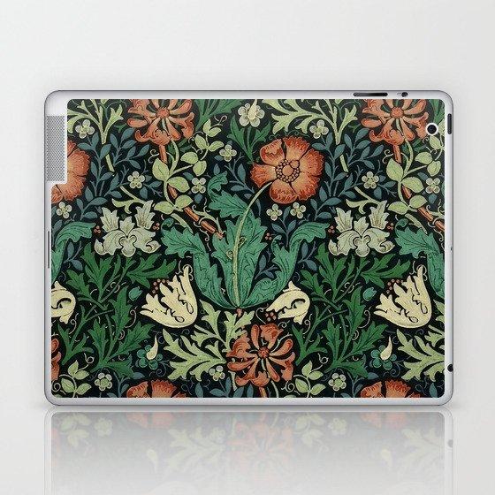 William Morris Compton Floral Art Nouveau Pattern Laptop & iPad Skin
