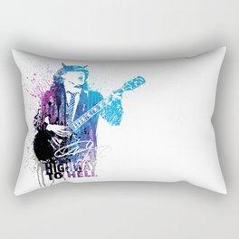 Highway to hell Rectangular Pillow