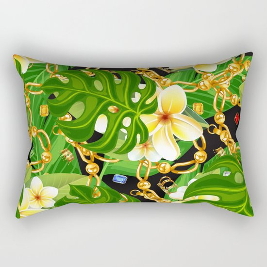 tropical elegant  Rectangular Pillow