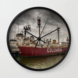 Astoria Oregon Wall Clock
