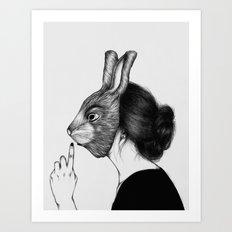 Peculiar III Art Print