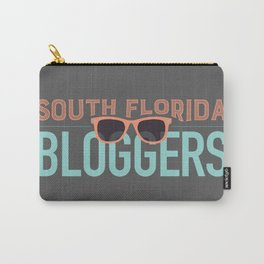 South Florida Bloggers Logo Carry-All Pouch