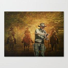 Gunfight at the OK Corral Canvas Print
