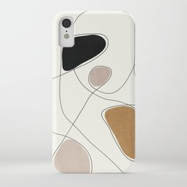 Thin Flow I iPhone Case