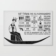 allaboardshoops! Canvas Print