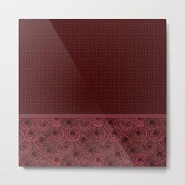 Anemones , red brown Metal Print