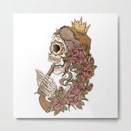 Suicide Sin Metal Print