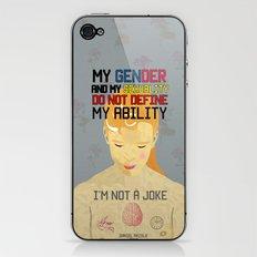I'm not a Joke iPhone & iPod Skin