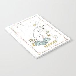 Scorpio Zodiac Series Notebook
