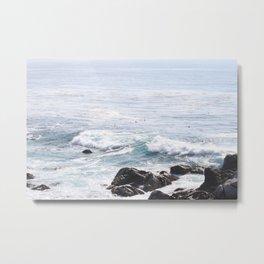 Ocean of Blue Metal Print