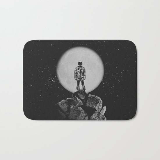 With The Moon Bath Mat