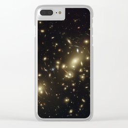 Abell 2218 Clear iPhone Case
