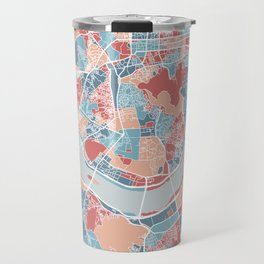 Seoul map Travel Mug