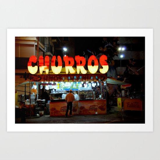 Churros Art Print