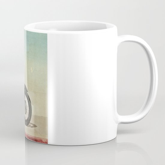 Looking for the drones, VW Scout Trooper Motorbike Mug