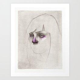 NaNoDrawMo 2012 - 14 Art Print