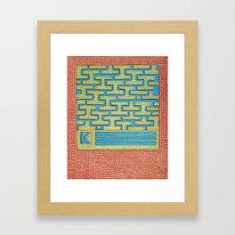 Kalma- Goddess of organization Framed Art Print