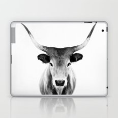 Honey - black and white Laptop & iPad Skin