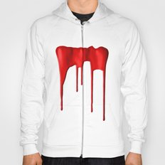 Red Splatter Hoody