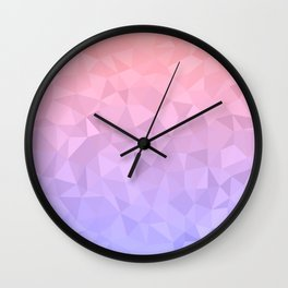 Pastel Ombre Wall Clock