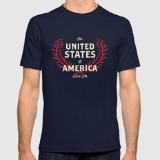 The United States of America Navy SMALL Mens Fitted Tee