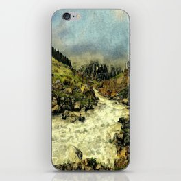 Mill Valley Stream Roar iPhone Skin
