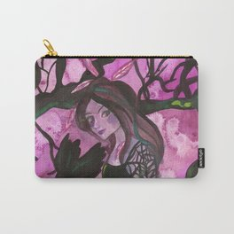 Raven Witch - Bright Purple Carry-All Pouch