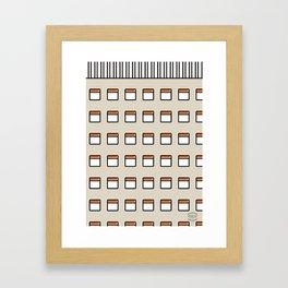 Torre América -Detail- Framed Art Print