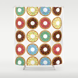 Donuts!! Shower Curtain