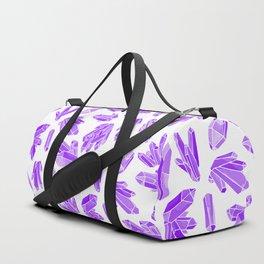 Crystals - Amethyst Duffle Bag