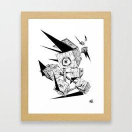 Les idées noires Framed Art Print