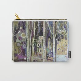 POSITIVE AFFIRMATION WORDS TREES Carry-All Pouch