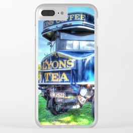 Lyons Tea van Clear iPhone Case