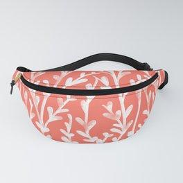 Leaf Pattern Fanny Pack