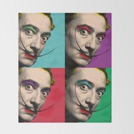 Salvador Dali Throw Blanket