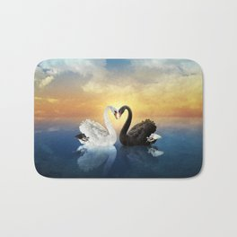 Cisnes Love Bath Mat