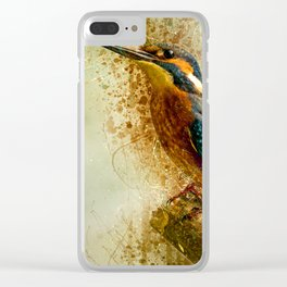 Free Bird Clear iPhone Case