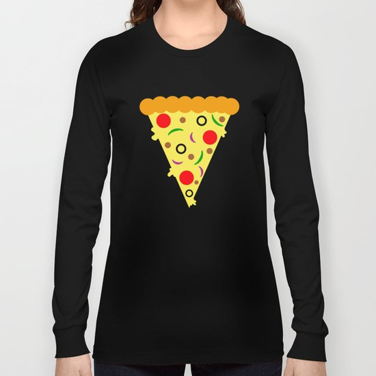 Pizza!  Food of the Gods! Long Sleeve T-shirt