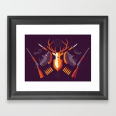 Hunter Memory Framed Art Print