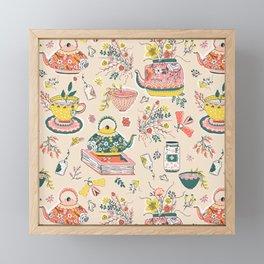 Tea Fest Framed Mini Art Print