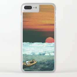 Meditation on Saturday Morning Clear iPhone Case