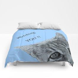 Watching YOU !! Comforters