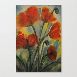 Field of Happy Canvas Print