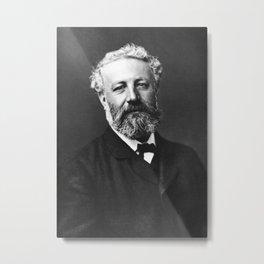 Jules Verne Portrait - By Felix Nadar - 1878 Metal Print