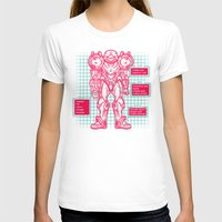 suit T-shirts featuring Varia Suit by MeleeNinja
