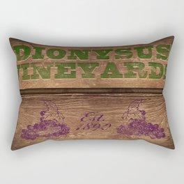 Dionysus Vineyards Rectangular Pillow