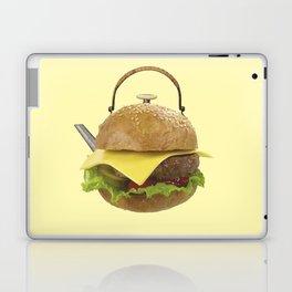 Kettle hamburger Laptop & iPad Skin