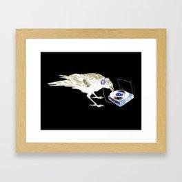 Ravens Like Music Too Framed Art Print