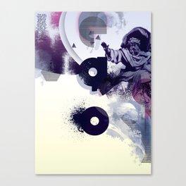 freud' ego Canvas Print
