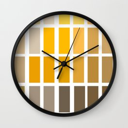 Munsell Chart Art / Archaeology Print/ Color Wheel Art Wall Clock